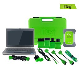 Wholesale Tool Cars Programmer - 100% Original JDiag Elite II WIFI with E6430 Notebook Professional Car J2534 Diagnostic and Programmer Tool MaxiFlash Pro MS908P FVCI