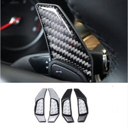 Wholesale paddle shift - Car Interior Steering Wheel Shift Paddle For Mercedes Benz GLC X156 C Class W205 2015-16 Shift Extension Decoration Cover Trim