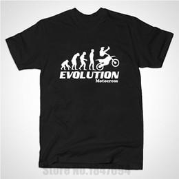 Wholesale Motocross Long Sleeve T Shirts - Wholesale- New Summer Style Evolution Motocross Freestyle T Shirt Men Casual Short Sleeve moto T-shirt