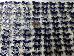 Wholesale tibet horse - 2017 fashion Cartoon animal horse adjustable mood rings