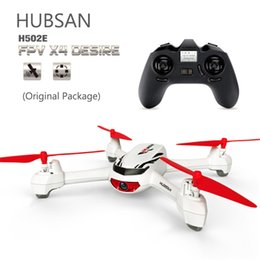 Wholesale Gps Control Rc - Hubsan X4 H502E With 720P HD Camera GPS Altitude Mode RC Quadcopter Helicopter RTF Mode Switch one key return to Home Drones RC +B
