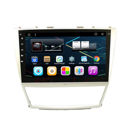 "Wholesale Dvd Auto Gps Tv - 10.2"" Touch Screen Android 6.0.1 Auto Stereo Car DVD For Toyota Camry 2007-2011 GPS Navigation RDS WIFI 4G OBD DVR Radio Mirror Screen"