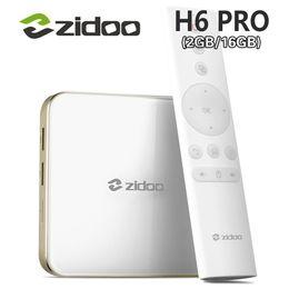 Wholesale Allwinner Android Box - ZIDOO DDR4 H6 PRO Android 7.0 4K TV Box Allwinner H6 2GB eMMC 16GB ac WIFI 1000M LAN Zidoo Android Box