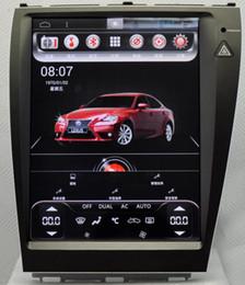 Canada 12.1 pouces Android 4.44 voiture Dvd Gps Navi Audio pour LEXUS ES250 ES300 ES350 2006--2012 1024 * 768 1 Go Wifi 4G soutien Original volant Offre