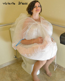 Wholesale Cheap Crochet Accessories - Cheap Petticoat Underskirt Save Your Wedding Dress From Toilet Water With The Bridal Buddy Wedding Accessories
