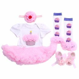 Wholesale Infant Girls Pink Dress Shoes - Wholesale- Pink baby girl dresses 2017 bow crown lace shoes hair accessories Legwarmer set,Girls props clothing sets,infant princess dress