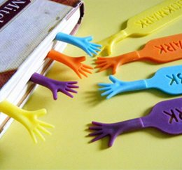 Wholesale Wholesale Novelty Bookmarks - cartoon kawaii cute Colorful Bookmarks set plastic novelty Item creative gift for kids chidren free shipping