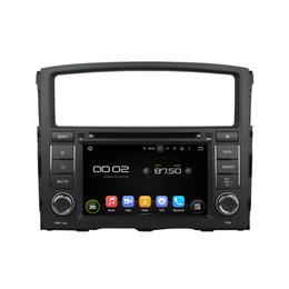Wholesale Dvd Car Mitsubishi Pajero - Quad Core 1024*600 HD Screen Android 5.1 Car DVD GPS Navigation Player for Mitsubishi Pajero 2006-2011 Radio Bluetooth
