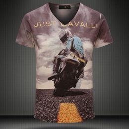 Wholesale Gentleman T Shirts - Newest Men T-shirt Man Hot Sell Foreign Trade Summer Men T-shirt Gentleman Custom Short Sleeve Cotton T-shirt Fashion 3D Printing