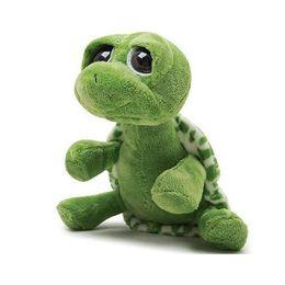 Wholesale Tortoise Dolls - 20cm Green Big Eyes Plush Tortoise Turtle Doll Toy Cute Soft Kids Baby Girls Boys Stufffed Plush Animal Toy Gift
