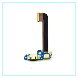 Wholesale usb connector parts - New Parts Micro Dock Connector Charging Port Flex Cable For HTC One M7 M8 E8 M9 M9 Plus M9 + USB Charging port Flex Cable Ribbon Original