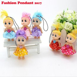 Wholesale Baby Doll For Mans - Free shipping Mini dolls Ddung for doll Baby Toy Birthday Gift Bag Mobile Pendant Hangings Decoration accessories
