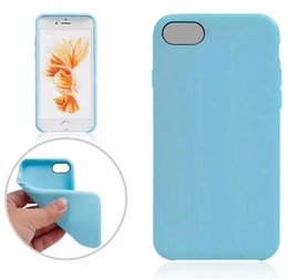 Wholesale soft jelly cases for iphone - 2016 NEW ! Official Soft TPU phone Case Leather Slim Silicone rubber jelly For Iphone 7 PLUS 7Plus I7 Iphone7 7TH Skin Cover Colorful Luxury