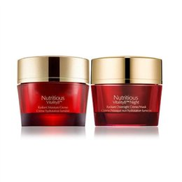 Wholesale Night Shine - In Stock !Red Pomegranate Nutritious Rosy Prism cream Moisturizing shine bright repairing day cream and night cream set free ship