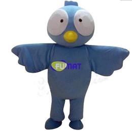 Wholesale Sea Mascot - FUMAT Cartoon Petrel Mascot Costume Animal Sea Swallow Mascot Party Dress Christmas New Year Costumes Picture Customization