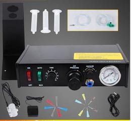 Colla pcb online-Dispensatore di colla semi-automatica 220V JND986, regolatore di liquido per pasta saldante per PCB, dispensatore di fluidi per contagocce