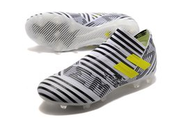 Wholesale Outdoor Soccer Cleats Arrivals - New Arrival ACC Nemeziz 17+ 360Agility FG Football Shoes Mens Soccer Cleats Outdoor Soccer Boots Men's Football Boots 39-45 Free Shipping
