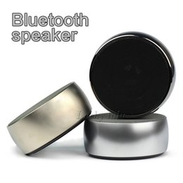 Wholesale Small High Speakers - 2017 NEW BS-01 High Quality Classic wireless Bluetooth speaker portable mini subwoofer small steel gun outdoor sound card with retail box