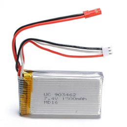 Wholesale Wholesale Battery Helicopters - Wltoys L959 Battery 7.4V 1500mah L959 Parts Accessory For Wltoys RC Helicopter