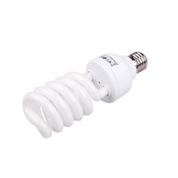 Wholesale E27 Video - E27 220V 5500K 45W Photo Studio Bulb Video Photography Daylight Light Lamp D1277