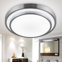 Wholesale Flush Mount Lights LED W Bathroom Kitchen Light Round Simple Modern Diameter CM