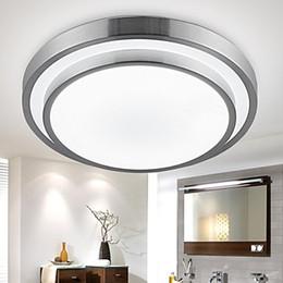Aluminio PVC Montaje empotrado Luces LED Diámetro 35 cm 18 W Cuarto de baño Cocina Luz Redondo Sencillo Moderno Lámparas de techo Iluminación Downlight desde fabricantes