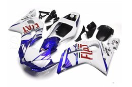 Wholesale yzf r6 fiat - Three free beautiful gift and new high quality ABS fairing plates for YAMAHA YZF-R6 YZFR6 1998-2002 good nice white blue red FIAT