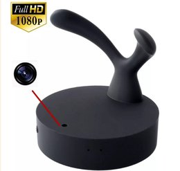 Wholesale Hd Coat - 32GB Spy Clothes Hook Camera HD 1080P Coat Hanger Hook Spy camera Spy dvr Pinhole cam with Motion Detection camcorder dv