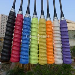 Wholesale High Quality Tennis Grips - Wholesale- High quality 20 pcs Abcyee EVA keel racket sweatband, fishing glue, Badminton Grip tennis overgrips tennis Sweatband