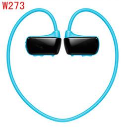 Wholesale Headphone Real - Wholesale- 2017 W273 Sports Mp3 player for sony headset real 8GB W273 Walkman Running earphone Mp3 music player headphone