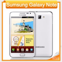 Wholesale Note 3g Gsm Phone - Samsung Galaxy Note N7000 Mobile Phone 5.3 Inch 8MP Camera 16GB Storage GSM 3G Unlocked Original Cell phone Refurbished