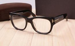 Wholesale Free Prescription Glasses - Free Shipping 2017 Brand TF5040 Original Quality Vintage Glasses Frame Prescription Glasses Full Rim Eye Glaases Optical Frame