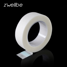 Wholesale Tape For Eyes - Wholesale- zwellbe 3 Pcs Lot Eyelash Extension Lint Free Eye Pads White Tape Under Eye Pads Paper T For False Eyelash Patch Make Up Tools