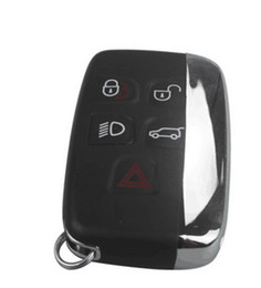 Wholesale Smart Keyless - New auto remote key for Landrover 4+1 button remote keyless entry smart key 434mhz with 7953 ptt chip high quality