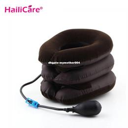 Wholesale Headache Back Shoulder Pain Cervical - 1pcs lot Cervical Neck Traction for Headache Head Back Shoulder Neck Pain Relax Kit neck massage
