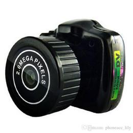 Wholesale Dvr Web - Brand New Camcorder Video Recorder DVR Mini Spy Camera Hidden Pinhole Web cam Y2000 Free Shipping