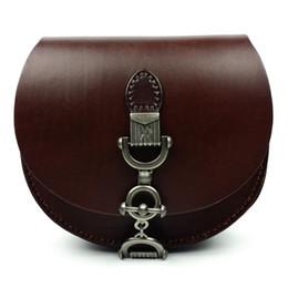 Wholesale Girls Saddles - Wholesale- JOYIR Fashion High Quality Genuine Leather Women Small Shoulder Bag Vintage Messenger Crossbody Bag HandBag for Girl Ladies 1066