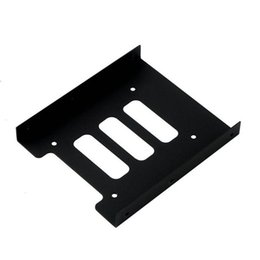 "Wholesale Mounting Ssd - Wholesale- 1pc 2.5"" to 3.5"" SSD HDD Metal Adapter Mounting Bracket Hard Drive Holder for PC"