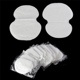 Wholesale Underarm Dress Pads - Underarm Pads Sweat Dress Sweat Perspiration Underarm Pads Summer Deodorants Absorbent White Pads For Men And Women