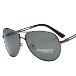Wholesale Wholesale Night Sights - Wholesale- Fashion Polariod Sunglasses Male Vintage Goggle Glasses Men Polarized Brand Driver Night Vision Aviator oculos de sol masculino