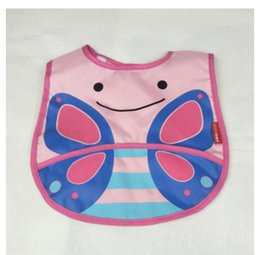 Wholesale Baby Boy Burp Clothes - Baby & Kids Cute Cartoon Waterproof bib Children Baby Bibs Boys Girls Infants Burp Clothes Feeding Care