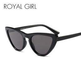 39d3f7dd9fa ROYAL GIRL Vintage Cat Eye Sunglasses Women Classic Brand Designer Sun  Glasses Shades High quality Oculos ss409