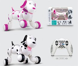 Wholesale Dancing Pet Toys - 24 fuctions RC walking toy dog 2.4G Wireless Remote Control Smart Dog Electronic Pet Educational Children's Toy dancing Dog