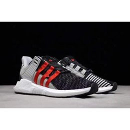 Wholesale X Men Original Art - 2017 Overkill x EQT Coat of Arms Pack Better Than Real Boost Top Quality Men Running Sneakers Black White Red With Original Box