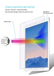 Argentina 9H Premium Tempered Glass para iPad 2 3 4 mini 1 2 3 4 ipad air 2 Protector de pantalla cubierta de la caja de la película para iPad con caja al por menor Suministro
