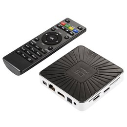 Wholesale Set Top Box Tv Tuner - Newest Original C8 Player TV Box Android 7.1 Mali-450MPz GPU Quad-core Cortex-A53 Up To 1.5GHz 1+8GB 2.4 GHz WIFI Set-Top BOX