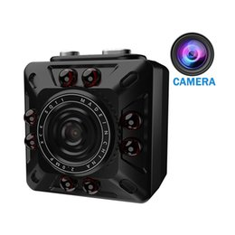 Wholesale 12mp Hd Digital Camcorder - SQ10 Mini Hidden Camera HD 1080P 720P 12MP Infrared Night Vision Digital Micro Cam Motion Detection Portable Spy Camcorder Video Recorder