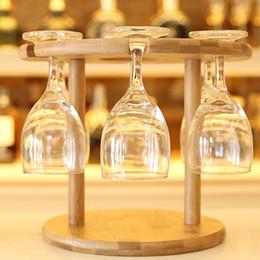 Wholesale Wine Bottle Stands - Wine Rack Bottle Holder Bar Club Pub Table Champagne Stand Display Bracket Wine Holder Convenient Coffee Cup Mug Holder JE0279
