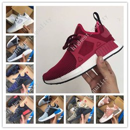 Wholesale Shoes Baby Eva - Mens & Womens NMD XR1 Glitch Black White Blue Camo Runing Shoes Adult And Children Men Women Baby Kids Runing Shoes Eur 36-45 free shipping