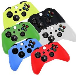 Wholesale Gel Skin Cases - Fashion Game Controller Silicone Gel Case Cover Skin for Microsoft Xbox One